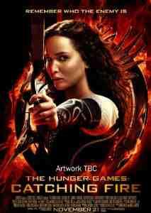 Hunger Games Catching Fire DVD