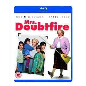 Mrs Doubtfire Blu ray Robin Williams