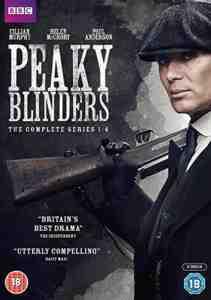 Peaky Blinders - Series 1 – 4 DVD