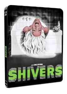 Shivers Steelbook Dual Format Blu ray