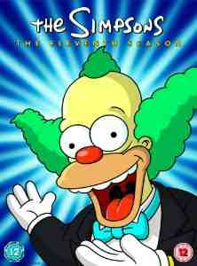 Simpsons Season 11 Complete DVD