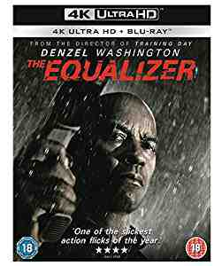 The Equalizer 4k Blu-ray