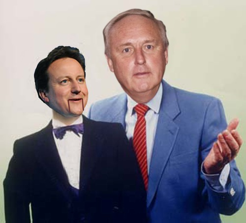 Paul Dacre's puppet, David Cameron