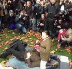 facesitting protest
