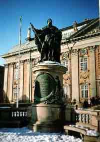 gustav i of sweden statue 2007 stockholm