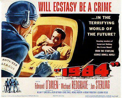 1984 ecstacy crime poster