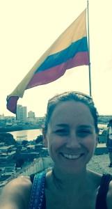 ColombianFlagSelfie