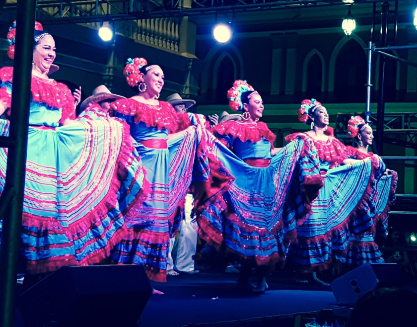 Folk Dancing Granada