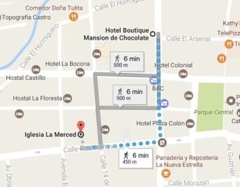 Google Map Granada