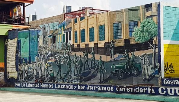 León mural