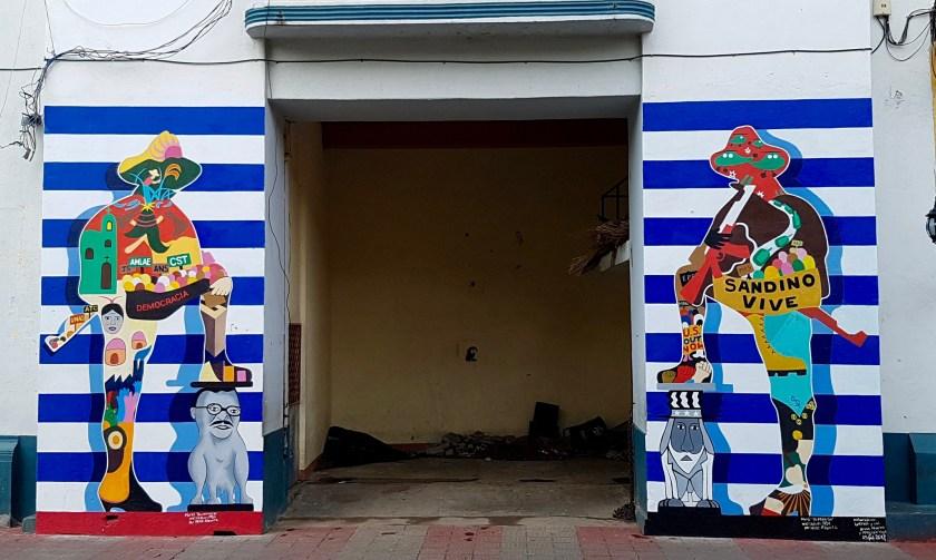 Sandino Murals León