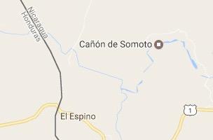 Somoto Canyon Map