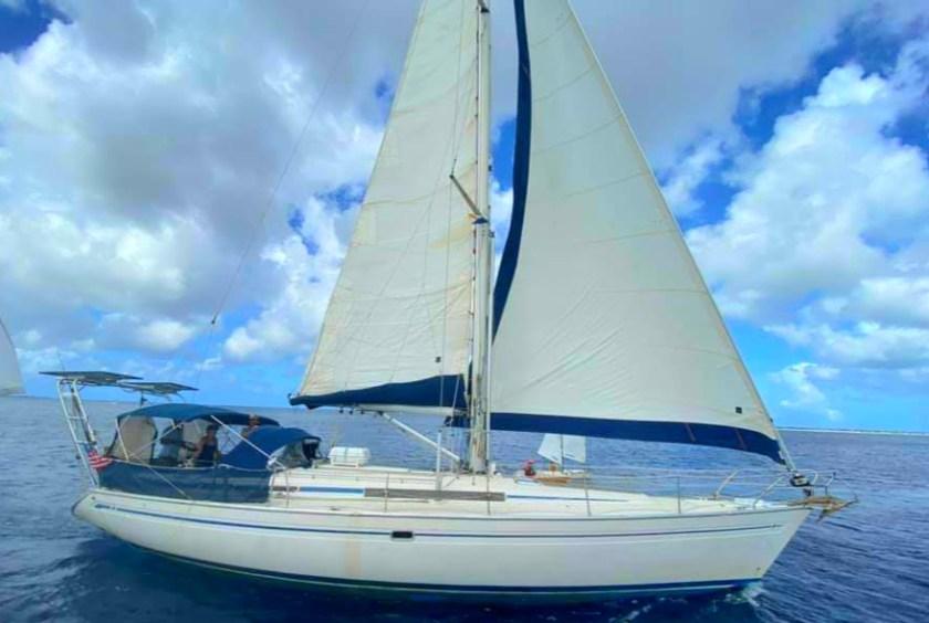 Sava under sail