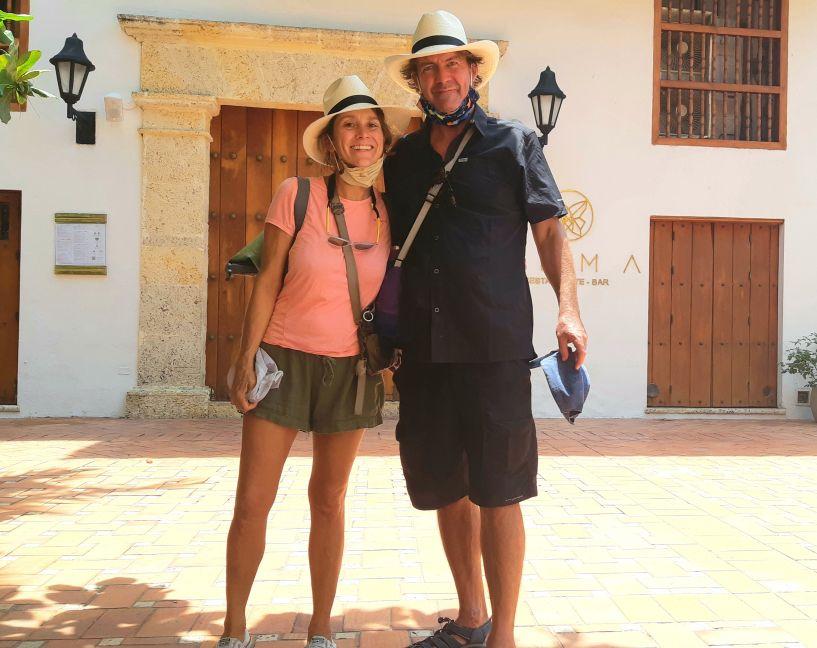 hats in Cartagena