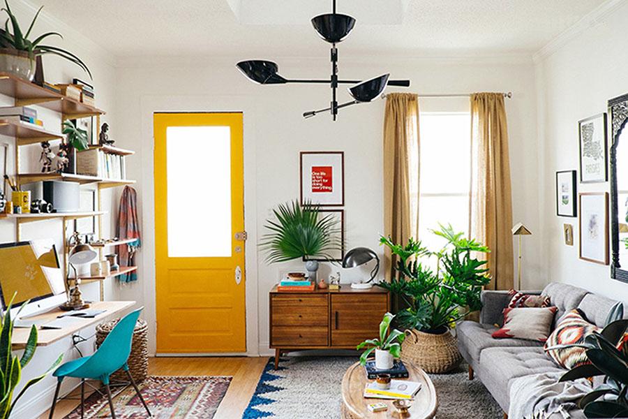 Inspiration déco #1 : bleu, blanc, jaune