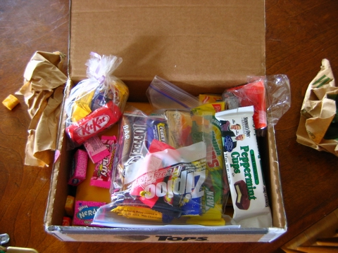 box of candy