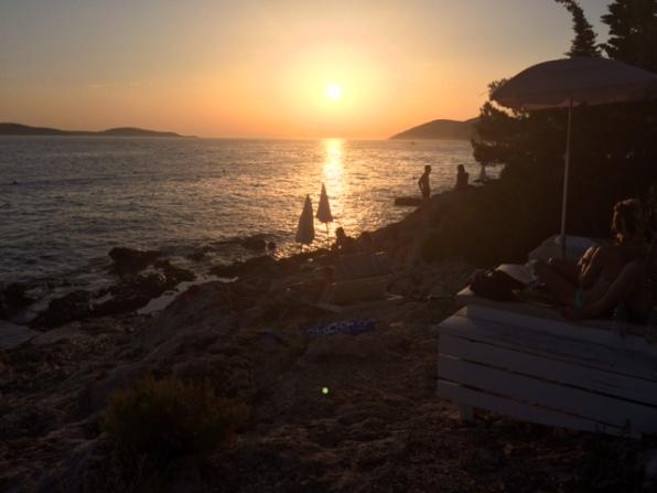 falko beach bar en isla de hvar