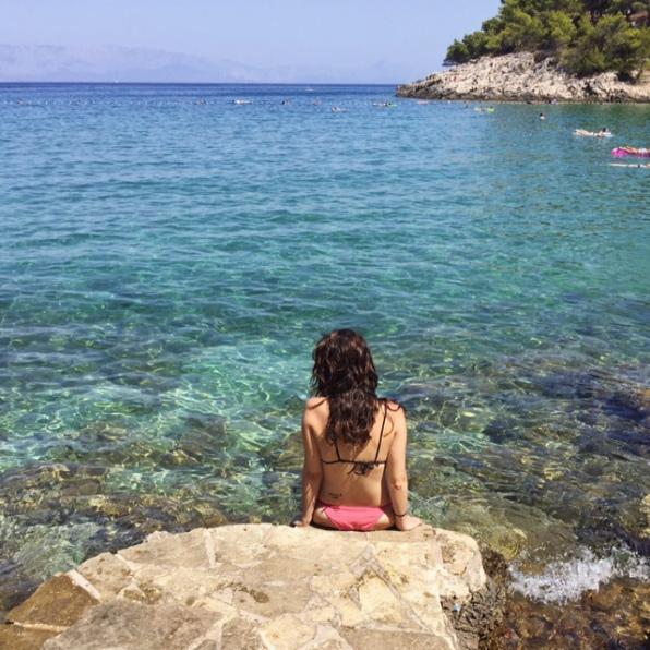 playa en Jelsa isla de hvar