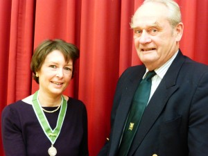 Rebecca and Richard Presidents 2016 AGM