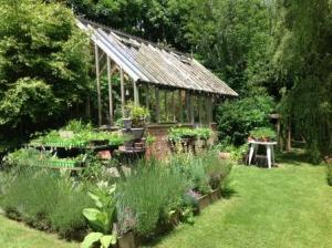 Winner of Large Garden class - Ms N Darby & Mr J Smith, Mangerton