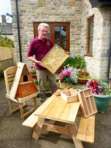 Woodcraft Chairman, Peter Wheeler