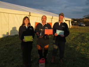 Team Dorset - Lydia Lee, Russell Woodham & Tim Frampton