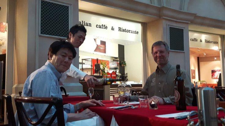 Spirit Hills owner Hugo Bonjean in Japan