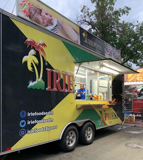 Irie Foods truck