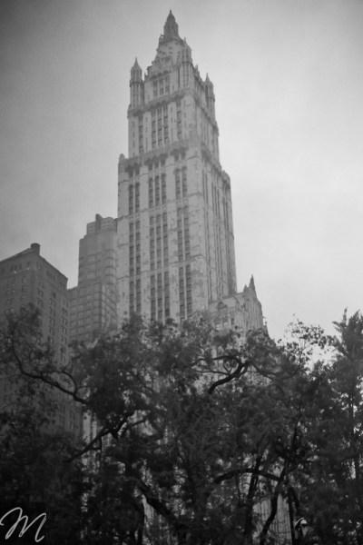 New York City-rainy day