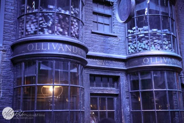 Went to Ollivander's to get my wand