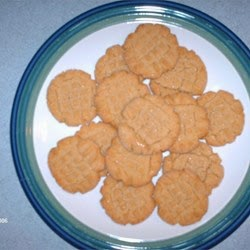 Desserts – Peanut Butter Cookies Iv