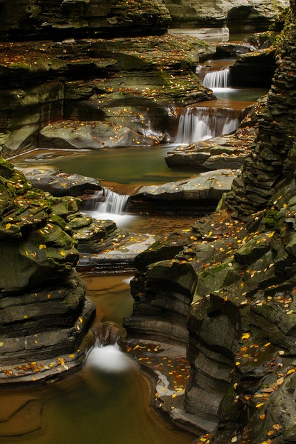 Canyon Falls, Watkins Glen, New York