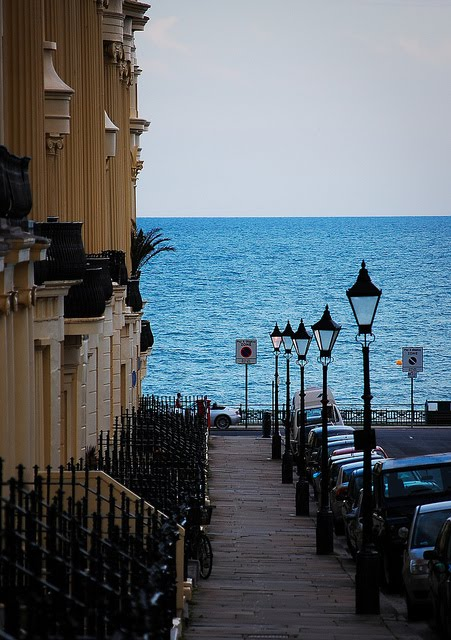 Down to the Sea, Brighton England