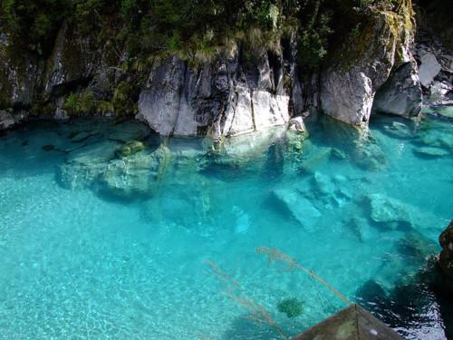 Turquoise Pool, South Island, New Zealand