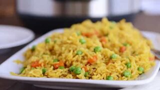 Instant Pot {Pressure Cooker} Indian Vegetable Rice
