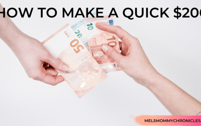 HOW TO MAKE A QUICK $200 – 14 Ways To Make Money Fast!