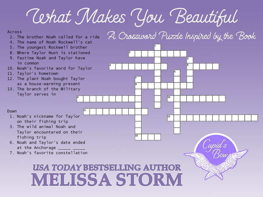 Games, Giveaways & Book Club for What Makes You Beautiful – Melissa