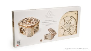 Ugears Treasure Box Package Face