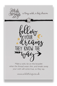Wishstring Follow Your Dreams