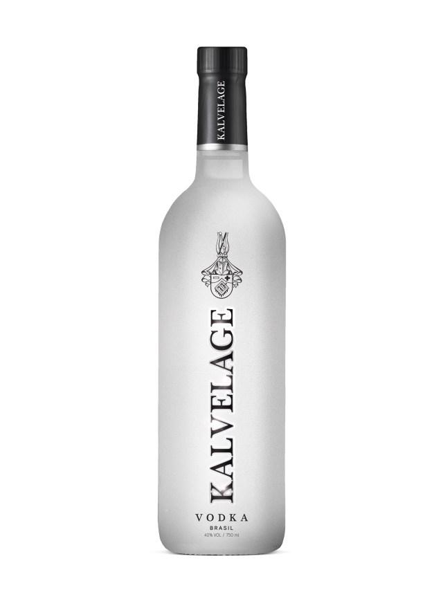 Garrafa da vodka que foi lançada em novembro. Imagem: Reprodução
