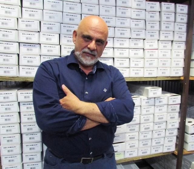 Salmo de Souza, diretor da Linear Acessórios para Construção. Imagem: Divulgação