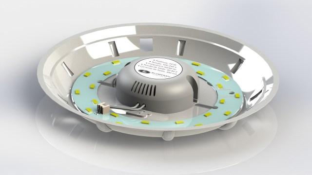 A Blumenau Iluminação conta com 95 peças de LED e, ainda nesse ano, deve lançar novos produtos. Imagem: Divulgação