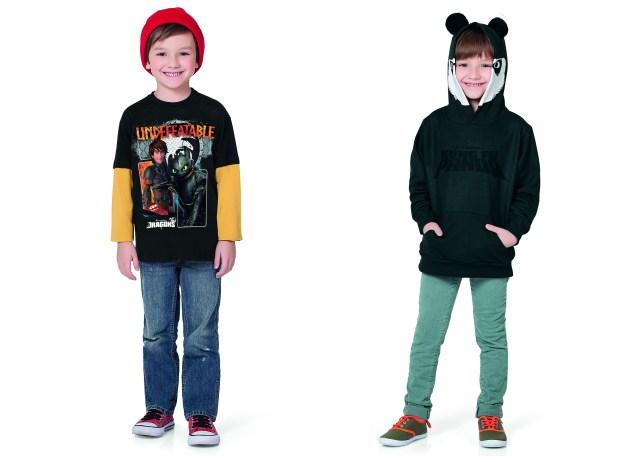 Como Treinar seu Dragão e Kung Fu Panda são novos licenciados da Fakini. Imagem: Actonove Fashion Photography)