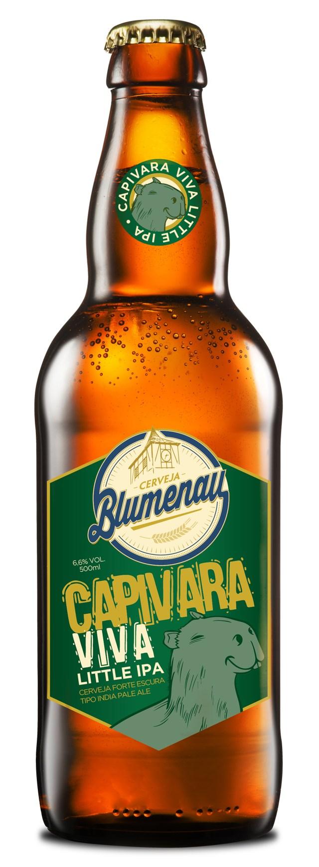 Capivara Viva Little IPA já está à venda. Imagem: Reprodução