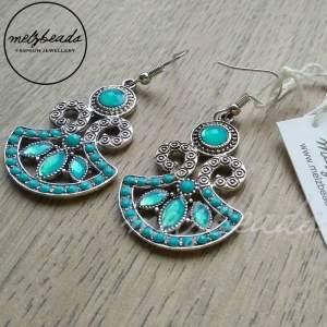 Meadow Vintage Turquoise Earrings