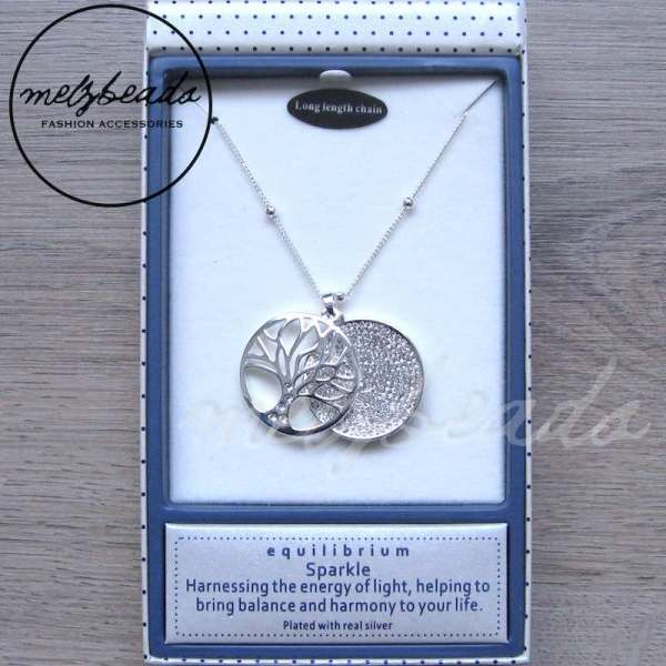 Equilibrium Tree Of Life Sparkle Necklace