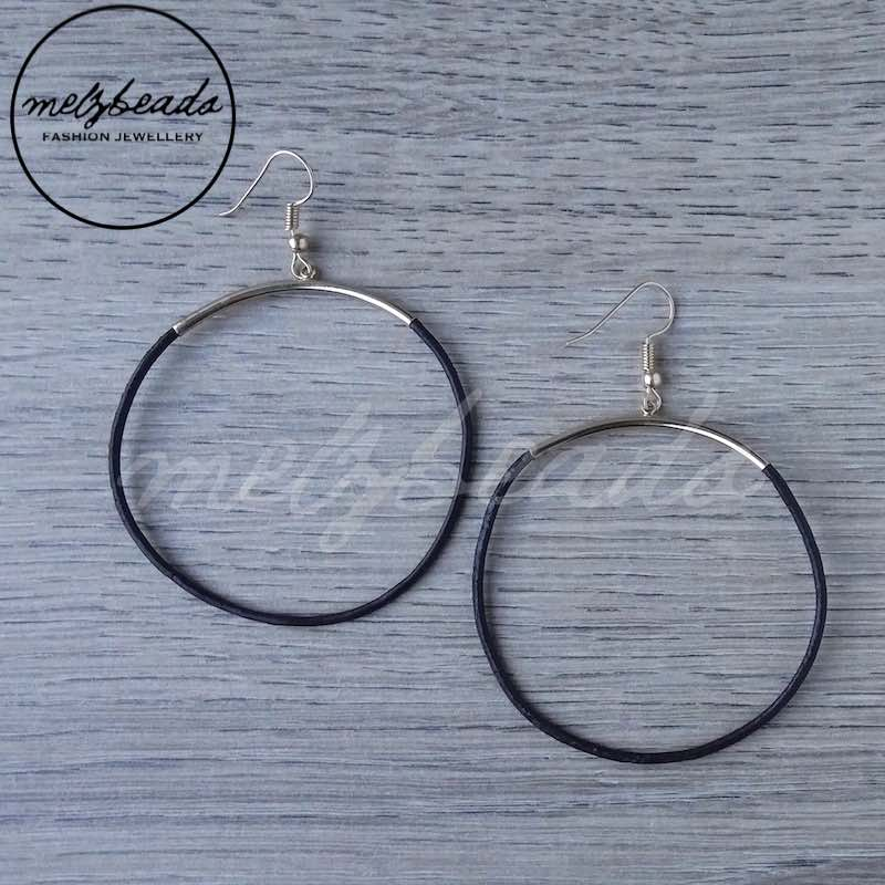 Rope Hoop Earrings