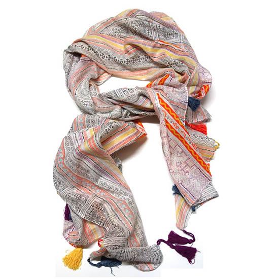 Large tribal scarf