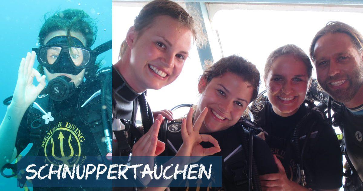 Schnuppertauchen, Divover Scuba Diver, Try Scuba