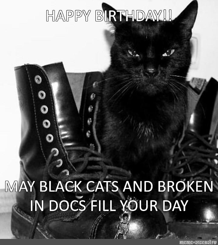 Somics Meme Happy Birthday May Black Cats And Broken In Docs Fill Your Day Comics Meme Arsenal Com